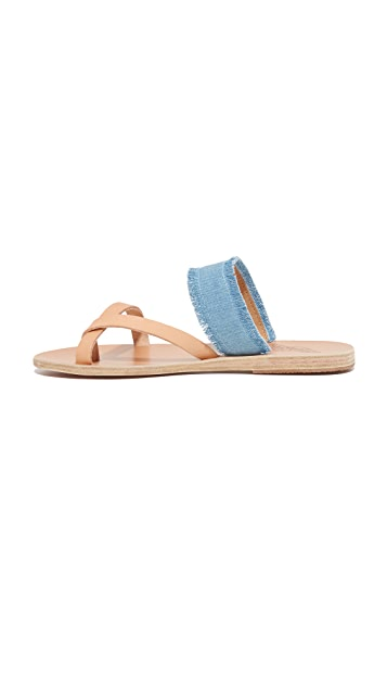 Ancient Greek Sandals Сандалии Daphnae