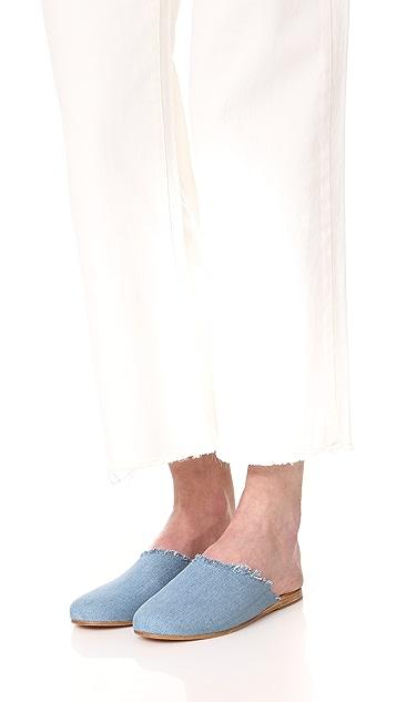 Ancient Greek Sandals Pasoumi Slides