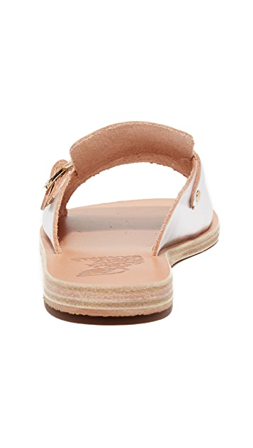 Ancient Greek Sandals Kaloniki Slides