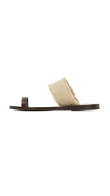 Ancient Greek Sandals Thraki Toe Ring Sandals