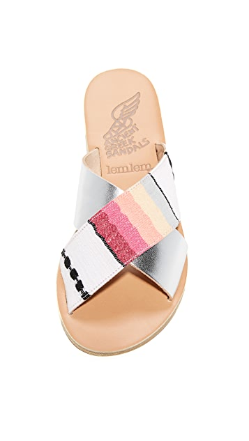Ancient Greek Sandals Ancient Greek Sandals x Lem Lem Thais Slides
