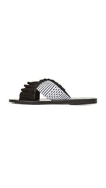 Ancient Greek Sandals Ancient Greek Sandals x Lem Lem Thais Frils Slides