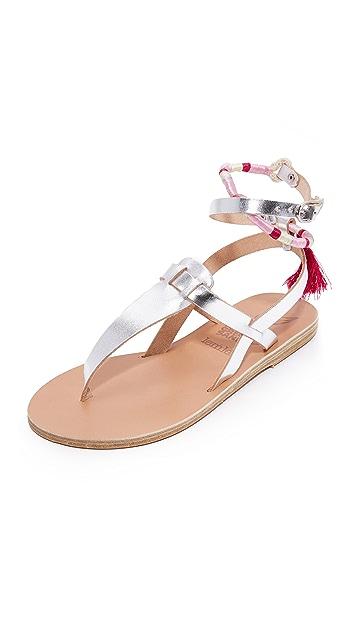 Ancient Greek Sandals Ancient Greek Sandals x Lem Lem Estia Wrap Sandals ...