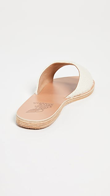 Ancient Greek Sandals Taygete Slide Sandals