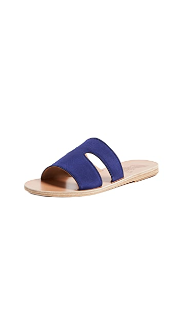 Ancient Greek Sandals Apteros Slide Sandals