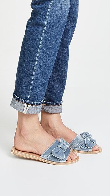 Ancient Greek Sandals Taygete 蝴蝶结凉拖鞋