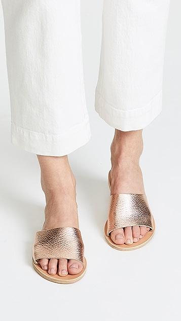 Ancient Greek Sandals Taygete Slides