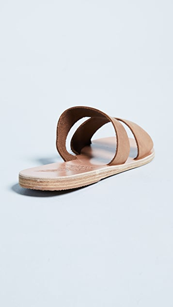 Ancient Greek Sandals Сандалии без застежки Apteros