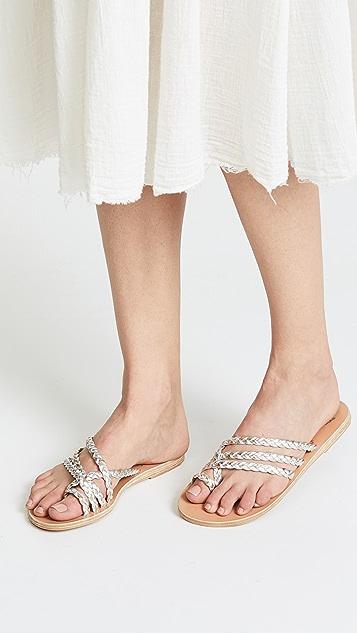 Ancient Greek Sandals Amalia Toe Ring Sandal