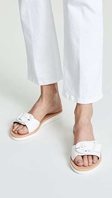Ancient Greek Sandals Aglaia Slides