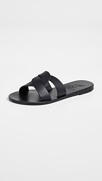 Ancient Greek Sandals Desmos Slides