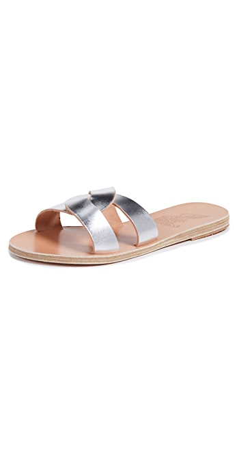 Ancient Greek Sandals Desmos Slides - Silver