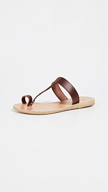 Ancient Greek Sandals Melpomeni Slide Sandals