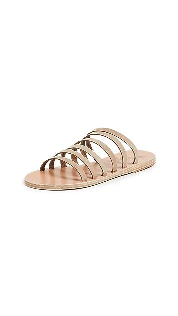 Ancient Greek Sandals Liston Slides