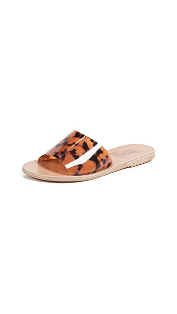 Ancient Greek Sandals Taygete Vinyl Slides