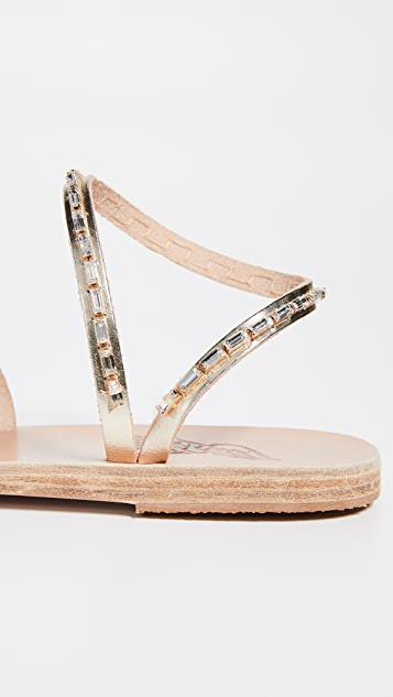 Ancient Greek Sandals Apli Eleftheria Diamonds 凉鞋