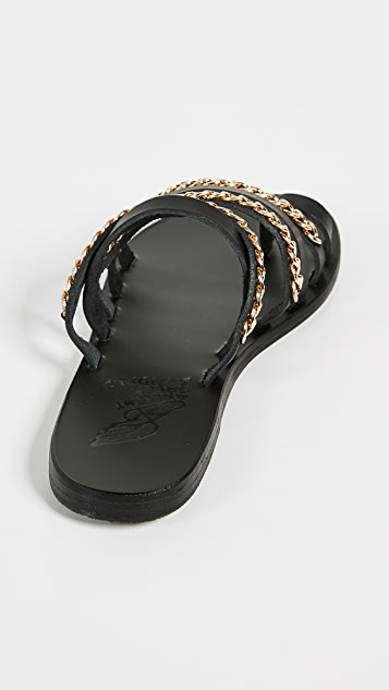 Ancient Greek Sandals Сандалии без застежки Niki Chains