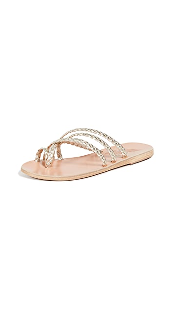 Ancient Greek Sandals Сандалии без застежки Amalia