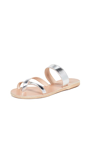 Ancient Greek Sandals Daphnae Slides