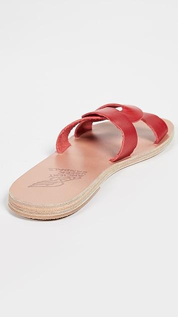 Ancient Greek Sandals Сандалии без застежки Desmos
