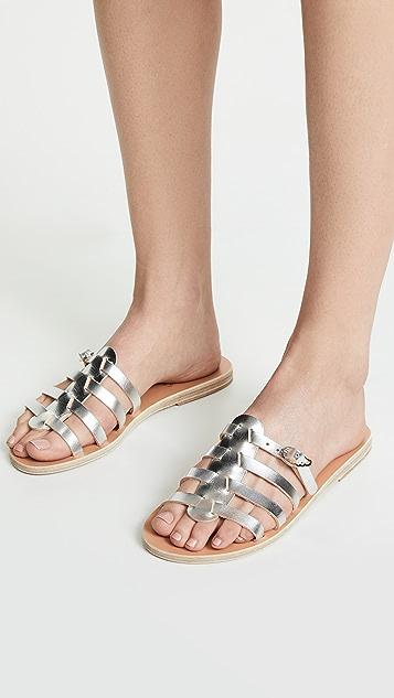 Ancient Greek Sandals Сандалии без застежки Erikousa
