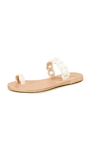 Ancient Greek Sandals Thalia Links Slides
