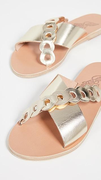 Ancient Greek Sandals Thais Links Slides