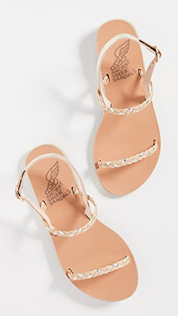 Ancient Greek Sandals Irida Braids Sandals