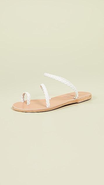 Ancient Greek Sandals Eleftheria Slide Sandals