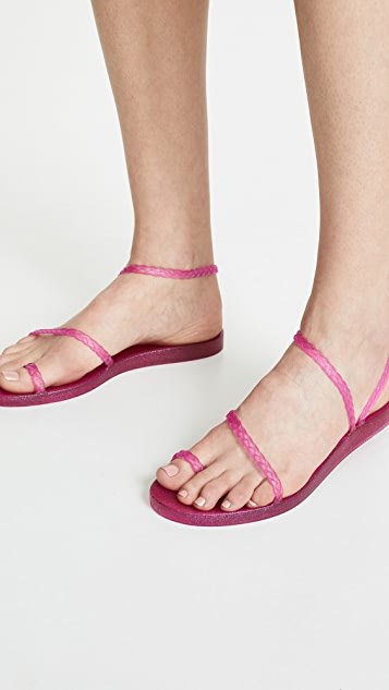 Ancient Greek Sandals Сандалии без застежки Eleftheria