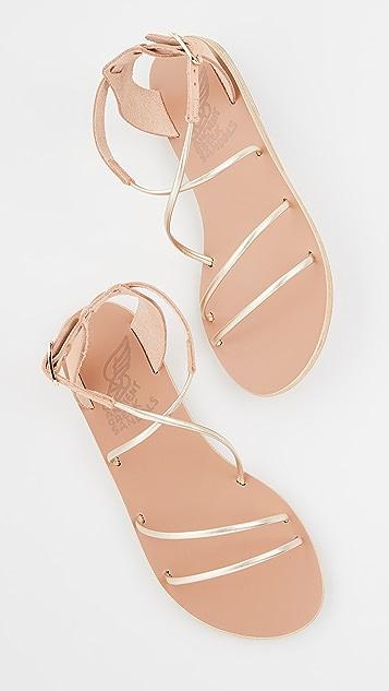 Ancient Greek Sandals Сандалии Melovia
