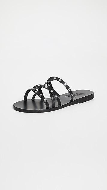 Ancient Greek Sandals Revekka 铆钉凉鞋