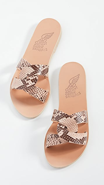Ancient Greek Sandals Desmos 凉鞋
