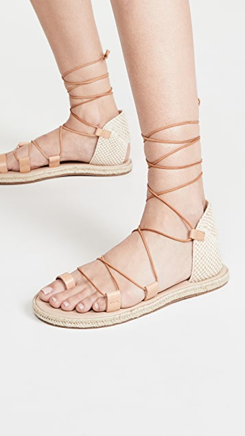 Ancient Greek Sandals Сандалии Esmeralda