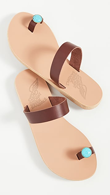 Ancient Greek Sandals Сандалии Thalia