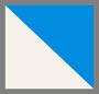 米白色/蓝色宝石