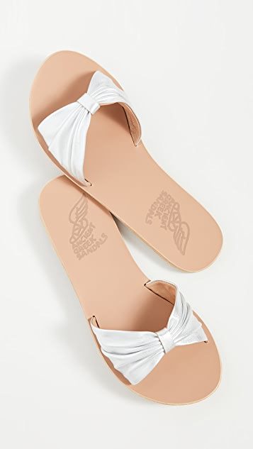 Ancient Greek Sandals Mimi Bow Slides
