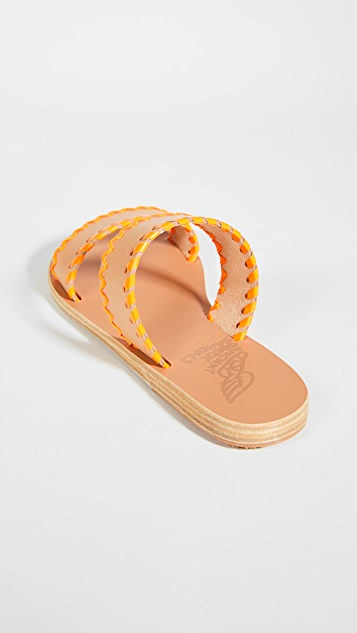 Ancient Greek Sandals Melia 缝线便鞋