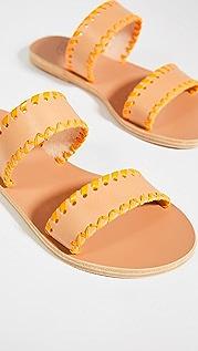Ancient Greek Sandals Melia Stitch Slides
