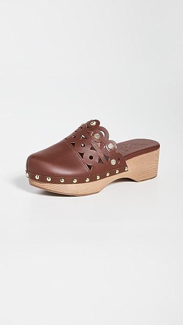 Ancient Greek Sandals Greco Closed Clogs