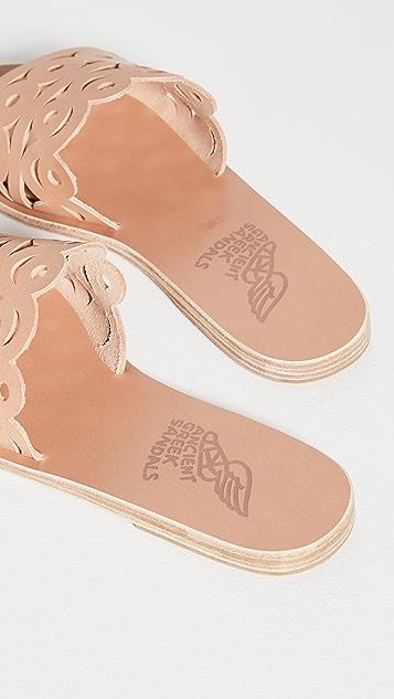 Ancient Greek Sandals Maistros Slides