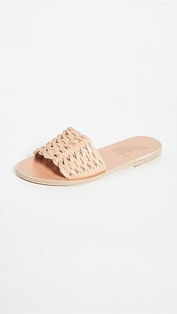 Ancient Greek Sandals Taygete Woven Sandals
