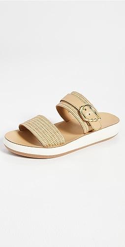 Ancient Greek Sandals - Preveza Comfort Raffia Sandals
