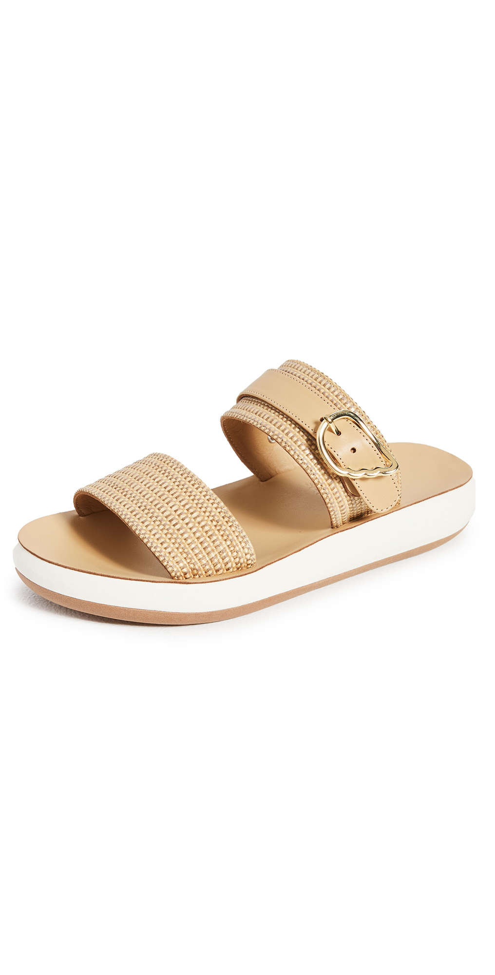 Ancient Greek Sandals Preveza Comfort Raffia Sandals