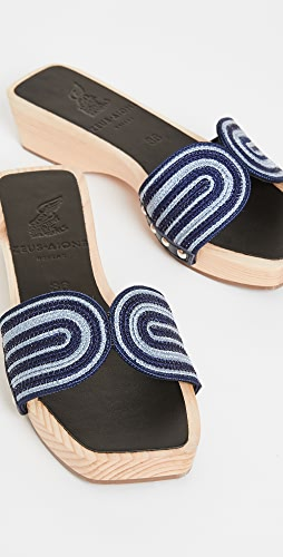 Ancient Greek Sandals - x Zeus + Dione The Harness 木底鞋