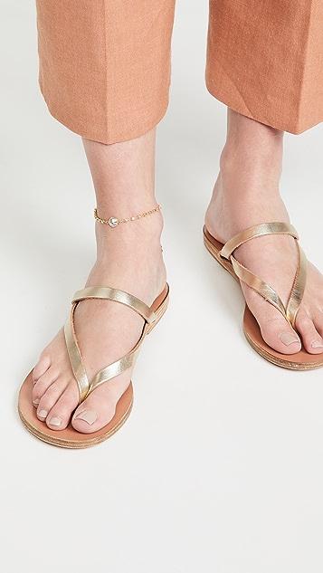 Ancient Greek Sandals 细链踝链