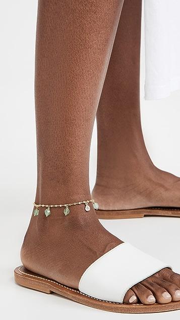 Ancient Greek Sandals 玉石踝链