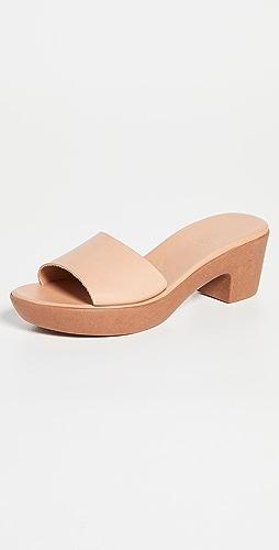Ancient Greek Sandals - Katina 舒适木底鞋