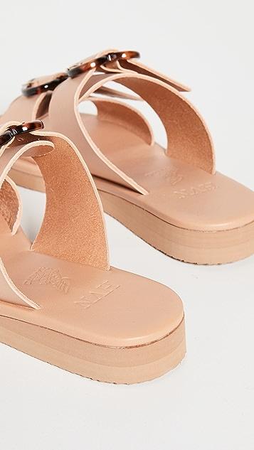 Ancient Greek Sandals x Harley Viera-Newton Iaso Hearts Sandals
