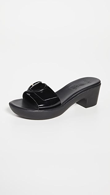 Ancient Greek Sandals Ags X Hvn Heart Jelly Clogs